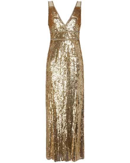 Festtagsmode für Frauen - Jenny Packham Abendkleid  - Onlineshop Lodenfrey