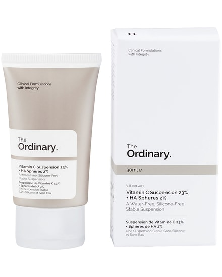 Vitamin C Suspension 23% + HA Spheres 2% The Ordinary.