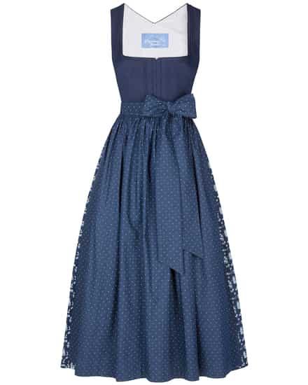Kleider für Frauen - Münchner Dirndl Dirndl lang mit Schürze  - Onlineshop Lodenfrey