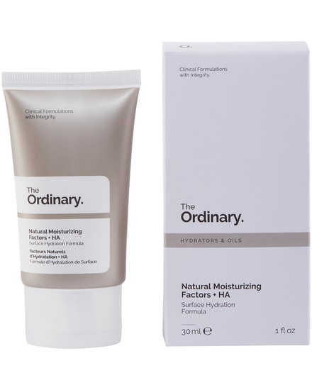 Natural Moisturizing Factors + HA The Ordinary.