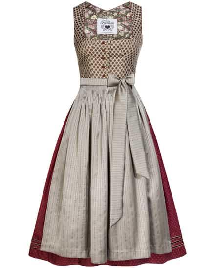 Kleider für Frauen - Julia Trentini Anna Dirndl lang mit Schürze  - Onlineshop Lodenfrey