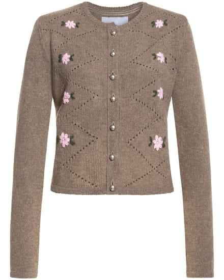 Jacken für Frauen - LODENFREY München 1842 Davos Trachten Strickjacke  - Onlineshop Lodenfrey