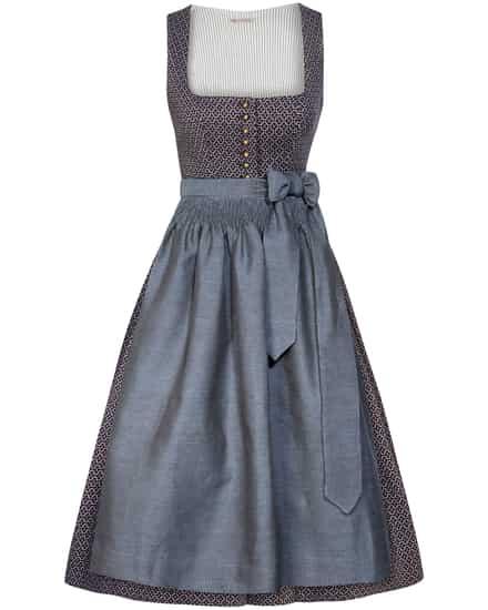 Kleider für Frauen - Gottseidank Monika Dirndl kurz mit Schürze  - Onlineshop Lodenfrey