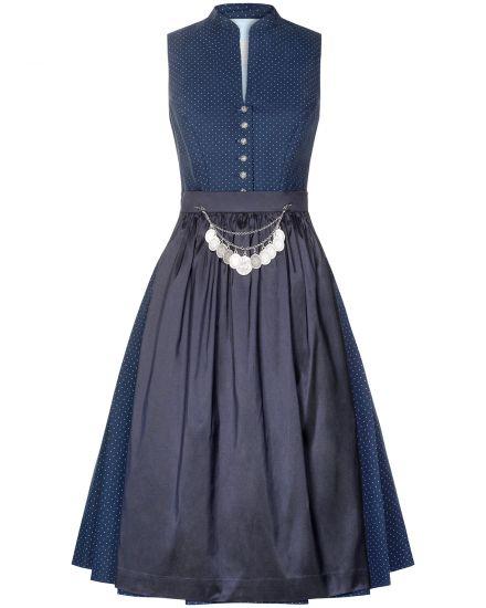 Kleider für Frauen - Silk Pearls Dirndl kurz mit Seidenschürze  - Onlineshop Lodenfrey