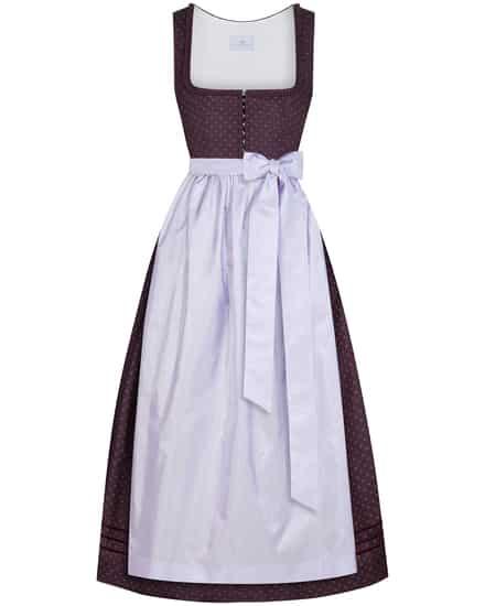 Kleider für Frauen - LODENFREY München 1842 Dirndl lang mit Seidenschürze  - Onlineshop Lodenfrey