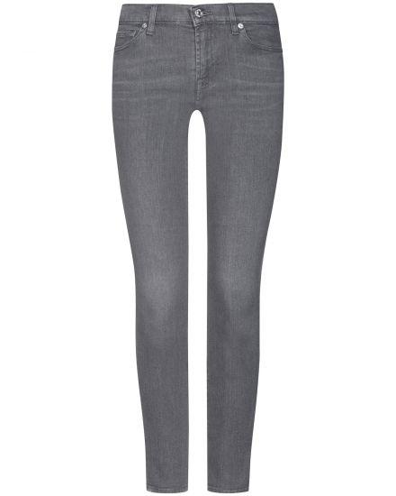 Hosen für Frauen - 7 For All Mankind The Skinny 7–8 Jeans Low Rise Crop  - Onlineshop Lodenfrey
