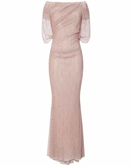 Festtagsmode für Frauen - Talbot Runhof Lobata23 Abendkleid  - Onlineshop Lodenfrey