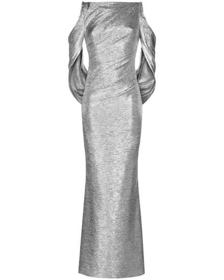 Festtagsmode für Frauen - Talbot Runhof Ponceau8 Abendkleid  - Onlineshop Lodenfrey
