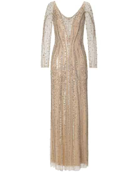 Festtagsmode für Frauen - Jenny Packham Constance Abendkleid  - Onlineshop Lodenfrey