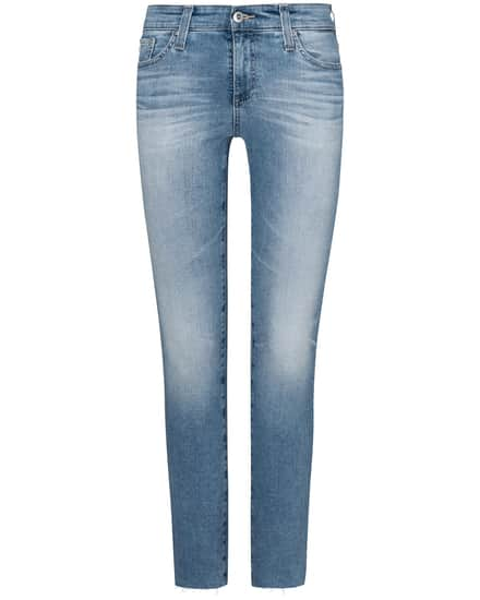 Hosen - AG Jeans The Mari Jeans High Rise Straight  - Onlineshop Lodenfrey