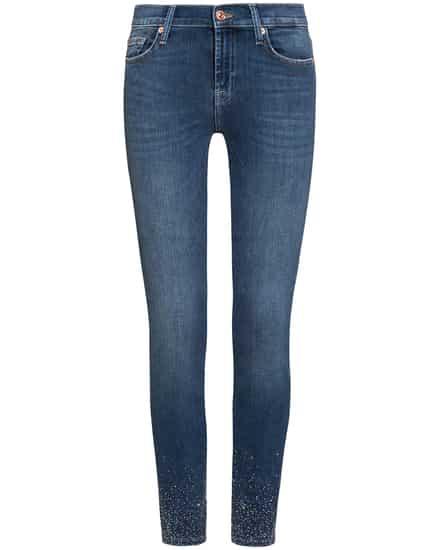 Hosen für Frauen - 7 For All Mankind The Skinny 7–8 Jeans Slim Crop  - Onlineshop Lodenfrey