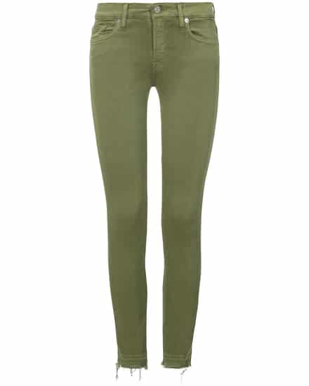 7 For All Mankind The Skinny Jeans Crop Unrolled  bei LODENFREY München
