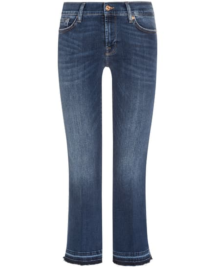 Hosen - 7 For All Mankind 7–8 Jeans Cropped Boot Unrolled  - Onlineshop Lodenfrey