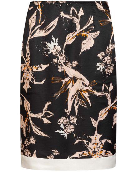 Roecke für Frauen - Dorothee Schumacher Tamed Florals Rock  - Onlineshop Lodenfrey