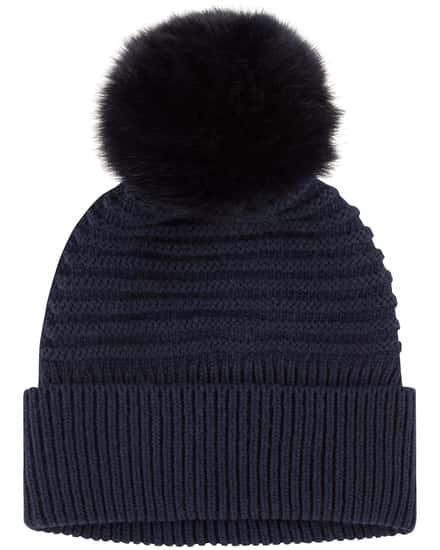 Muetzen für Frauen - Woolrich Soft Wool Mütze  - Onlineshop Lodenfrey