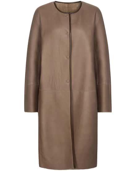Jacken für Frauen - Fabiana Filippi Leder Wendemantel  - Onlineshop Lodenfrey