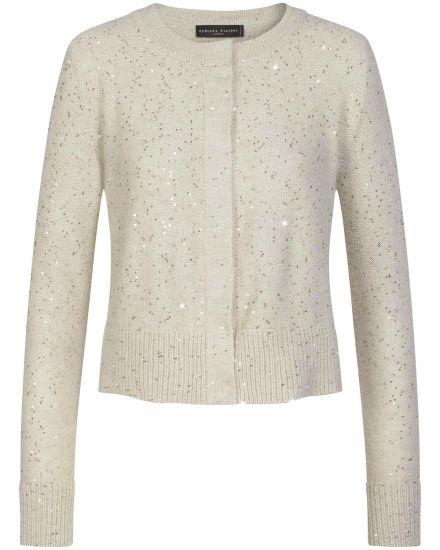 Jacken für Frauen - Fabiana Filippi Strickjacke  - Onlineshop Lodenfrey