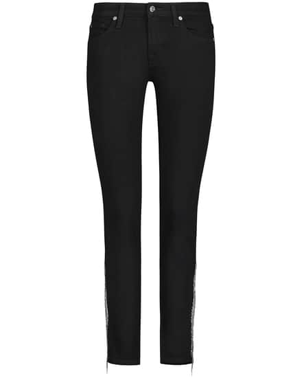 Hosen - 7 For All Mankind Pyper 7–8 Jeans Crop Slim Illusion  - Onlineshop Lodenfrey