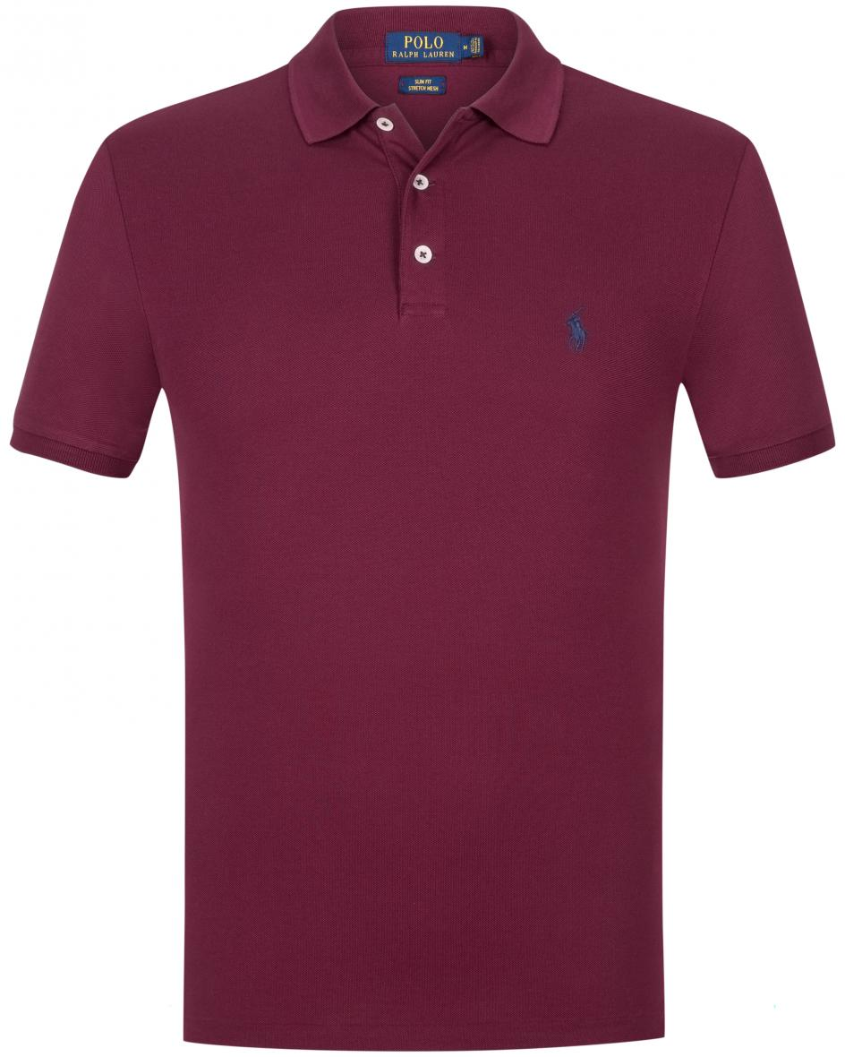 Polo-Shirt Slim Fit Stretch Mesh  S