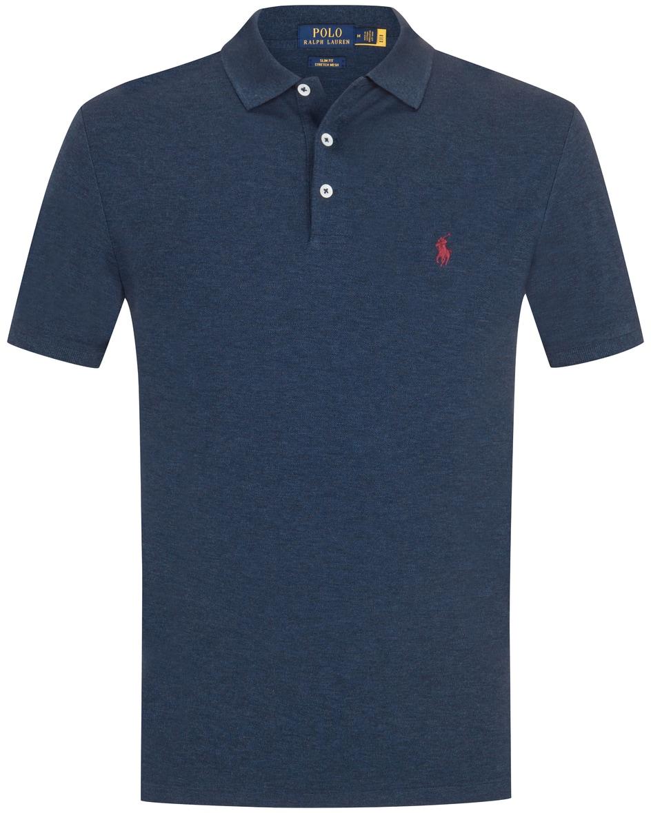 polo ralph lauren - Polo-Shirt Slim Fit Stretch Mesh