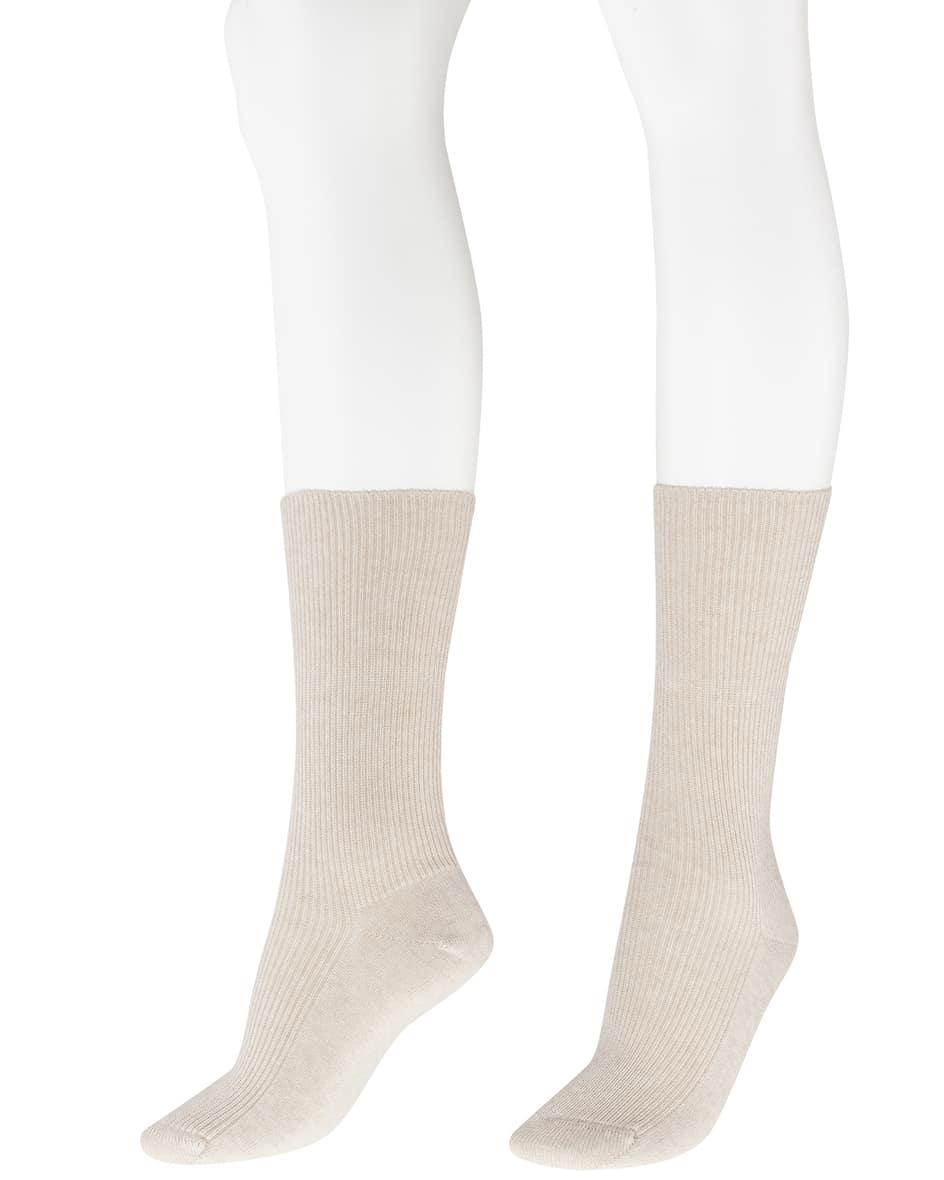 Cashmere-Socken Unisize