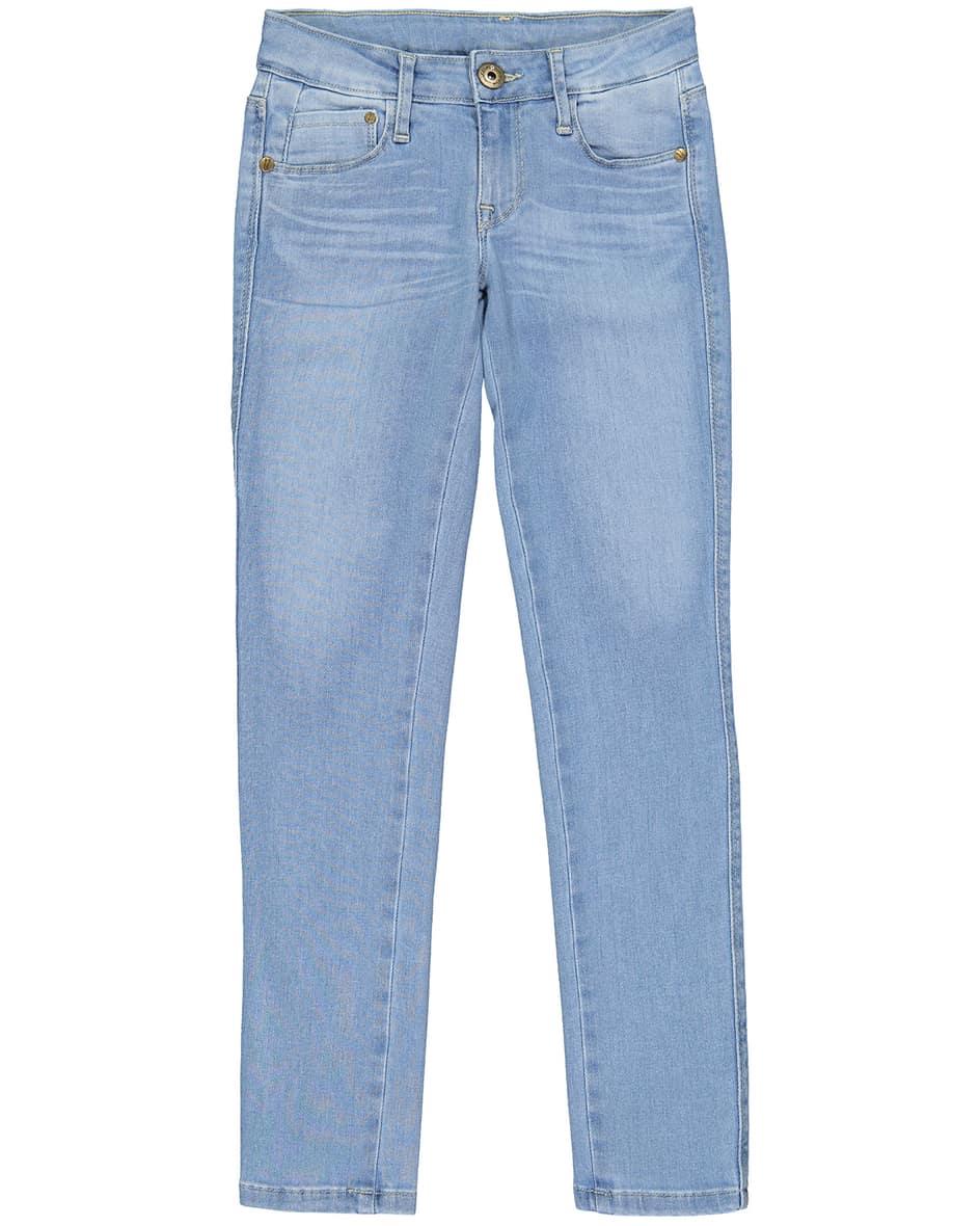 Artikel klicken und genauer betrachten! - Mädchen-Jeans Super Skinny von Just Blue in Hellblau. Dank elastischem Baumwoll-Mix sowie stilvoller Waschung erweist sich das Modell als perfekte.... Mehr Details bei Lodenfrey.com! | im Online Shop kaufen