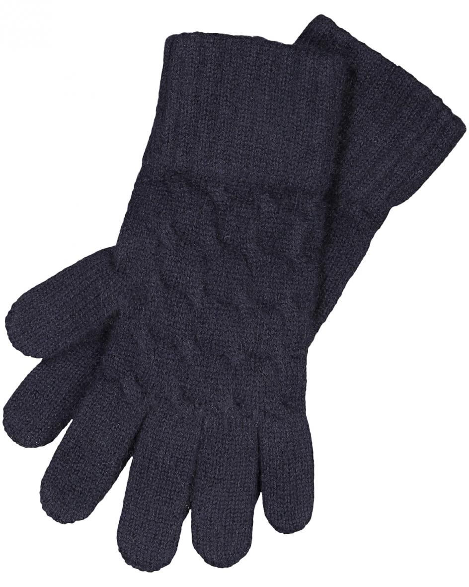Cable Cashmere-Handschuhe  Unisize