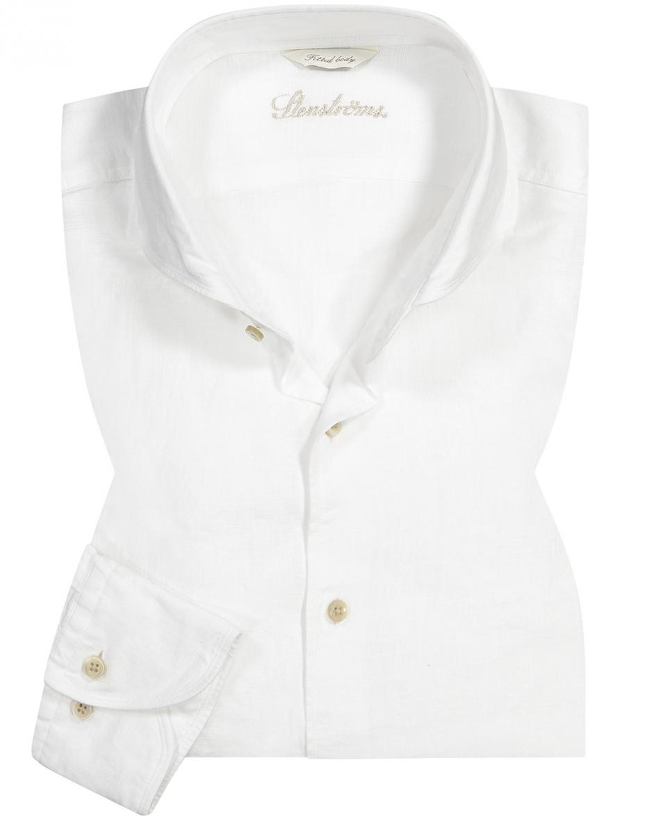 Leinenhemd Fitted Body XL