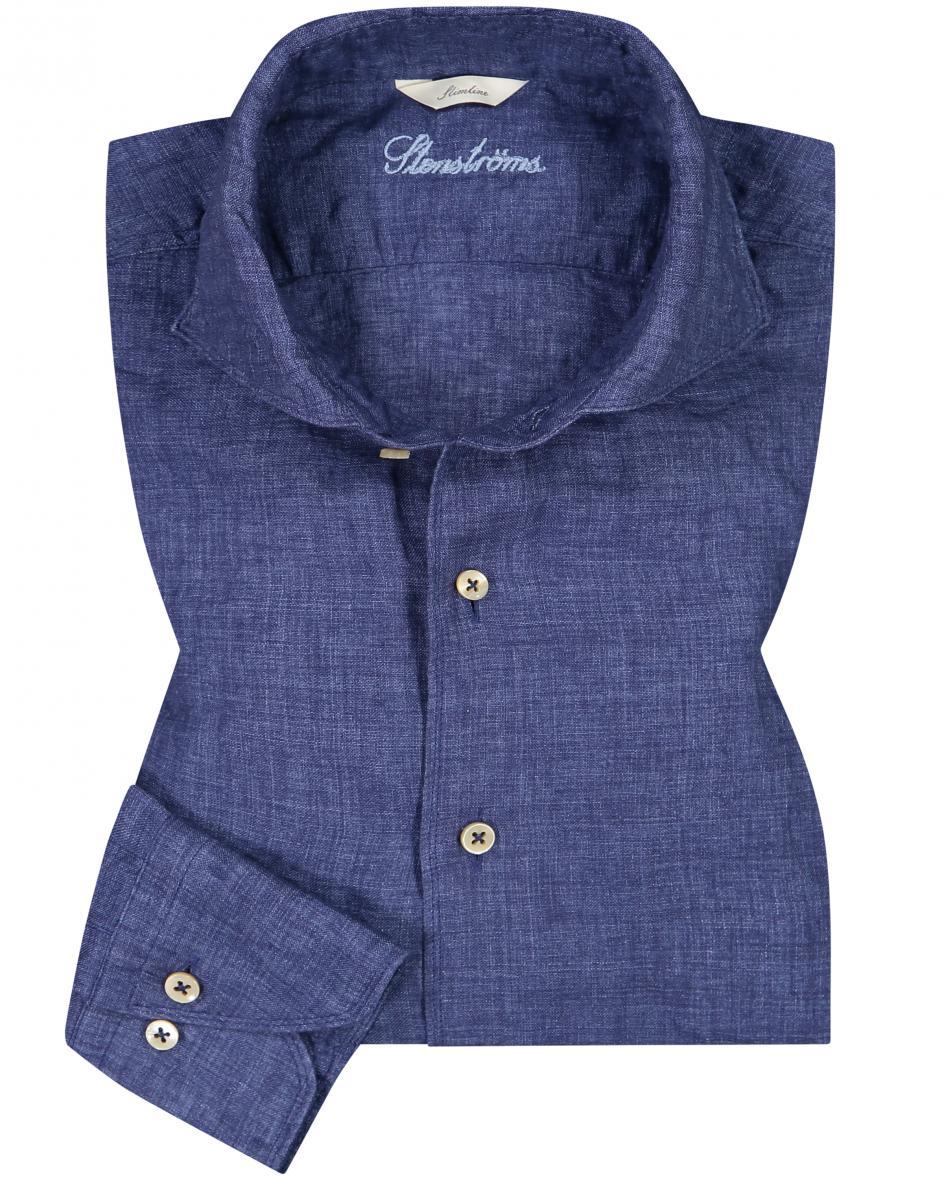 Leinenhemd Slimline S