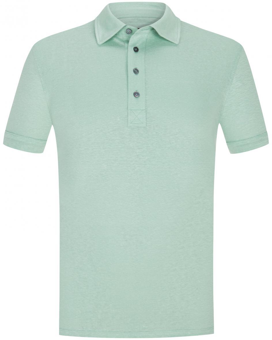 Leinen-Polo-Shirt  54