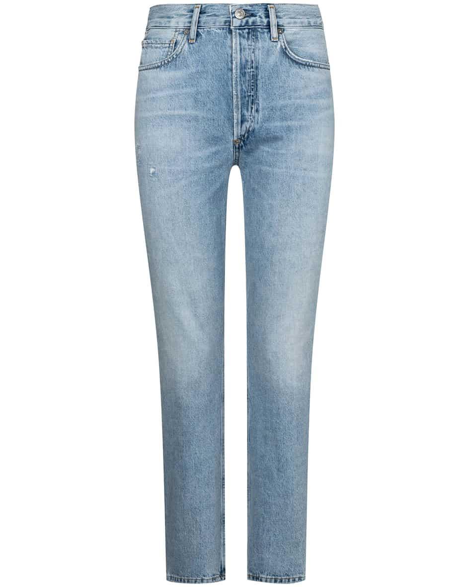 Hosen - Citizens of Humanity Charlotte Jeans High Rise Straight  - Onlineshop Lodenfrey