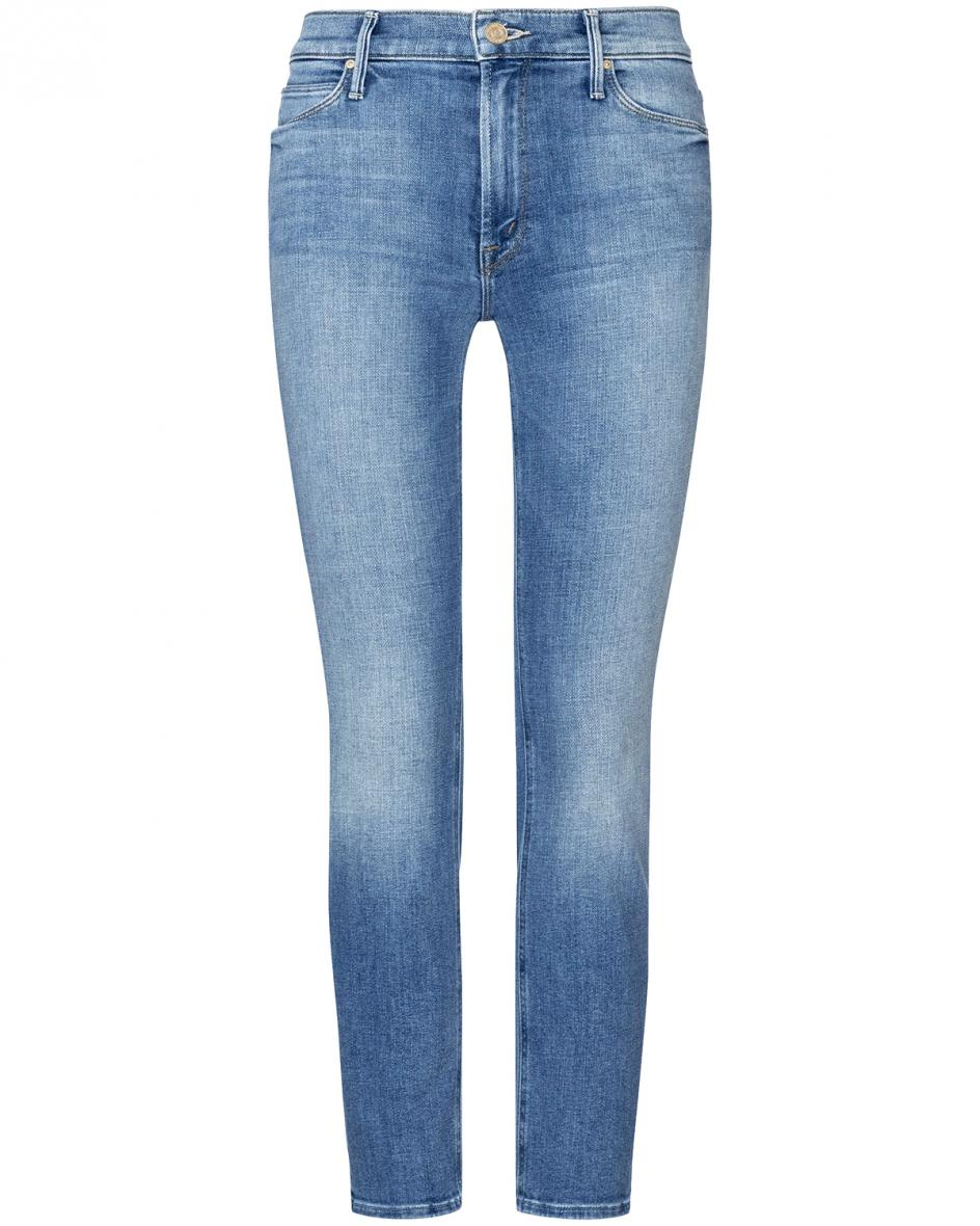 Hosen - Mother The Mid Rise Dazzler Ankle 7–8 Jeans  - Onlineshop Lodenfrey