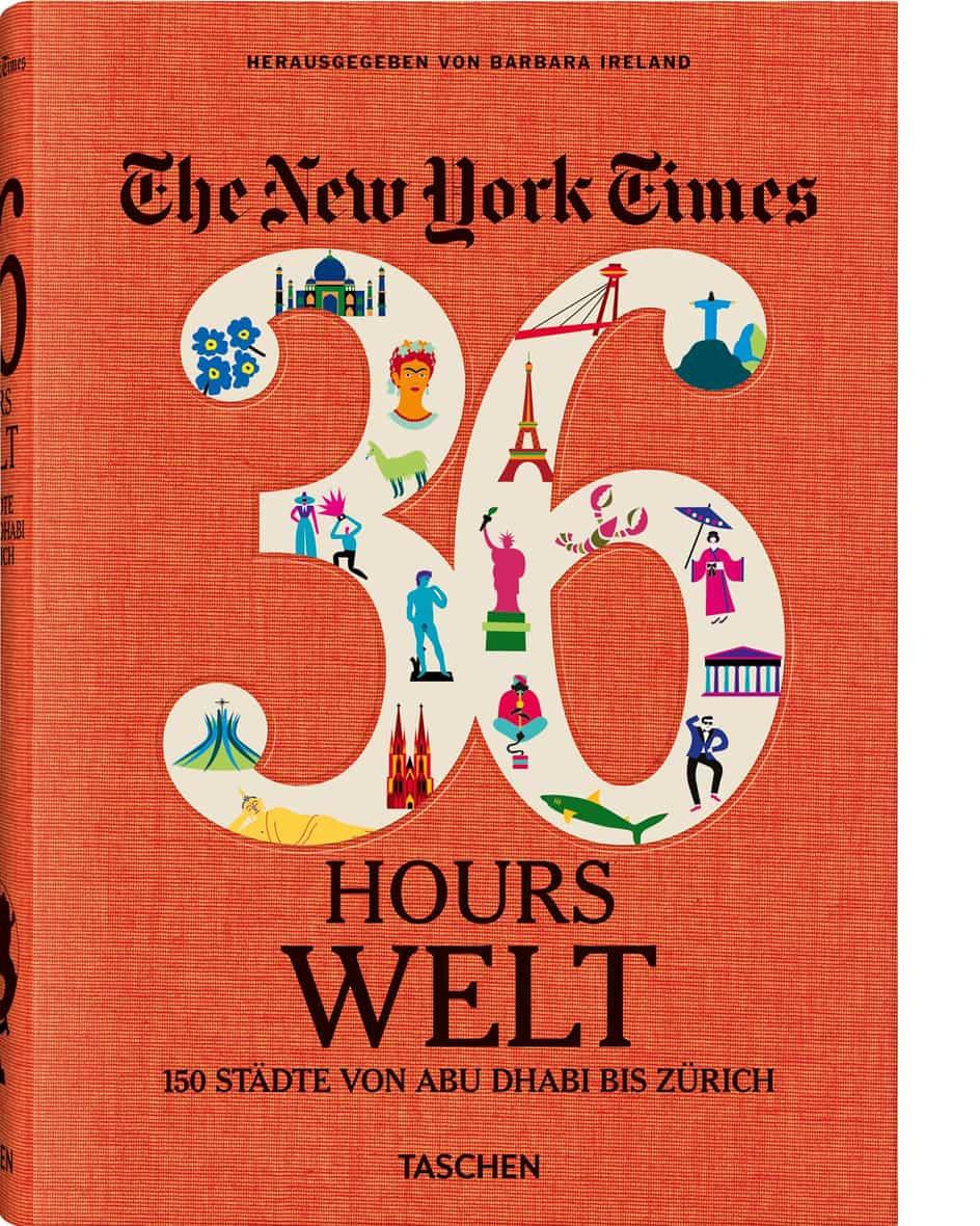 NYT – 36 Hours Welt Buch  Unisize