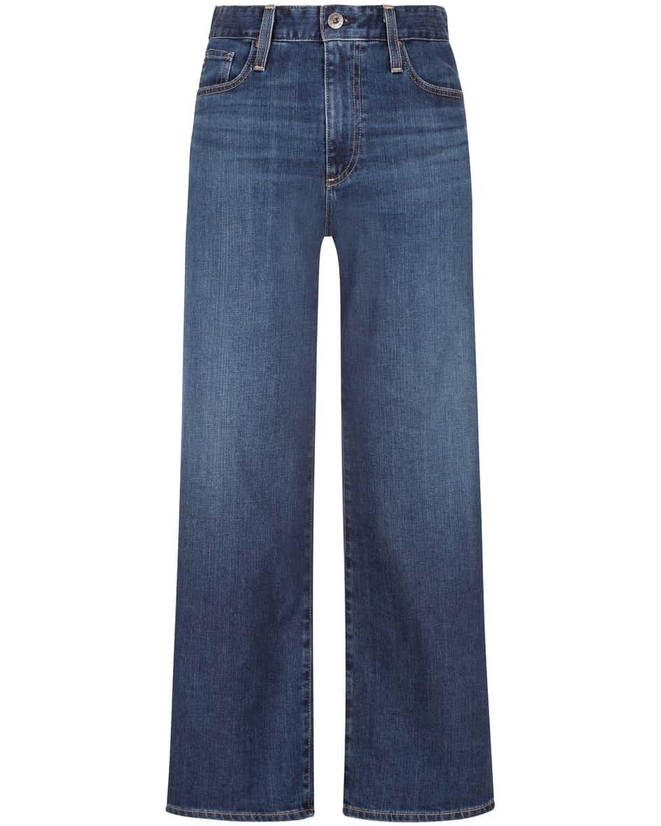 Hosen - AG Jeans The Etta 7–8 Jeans High Waisted Wide Leg Crop  - Onlineshop Lodenfrey