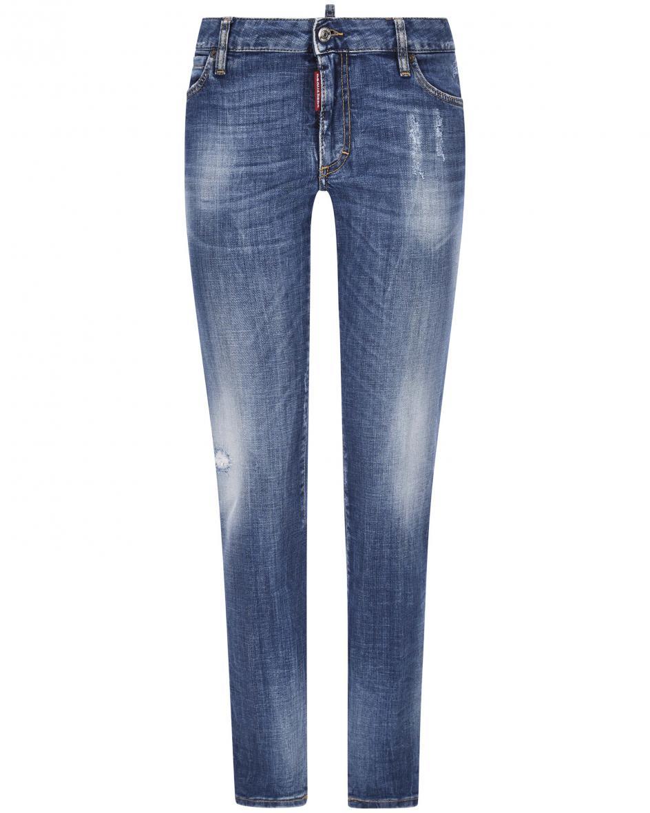 Hosen - Dsquared2 Skinny Jeans Medium Waist  - Onlineshop Lodenfrey