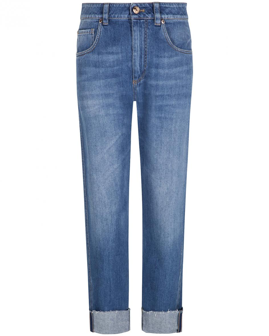 Straight Leg 7/8-Jeans Mid Rise  38