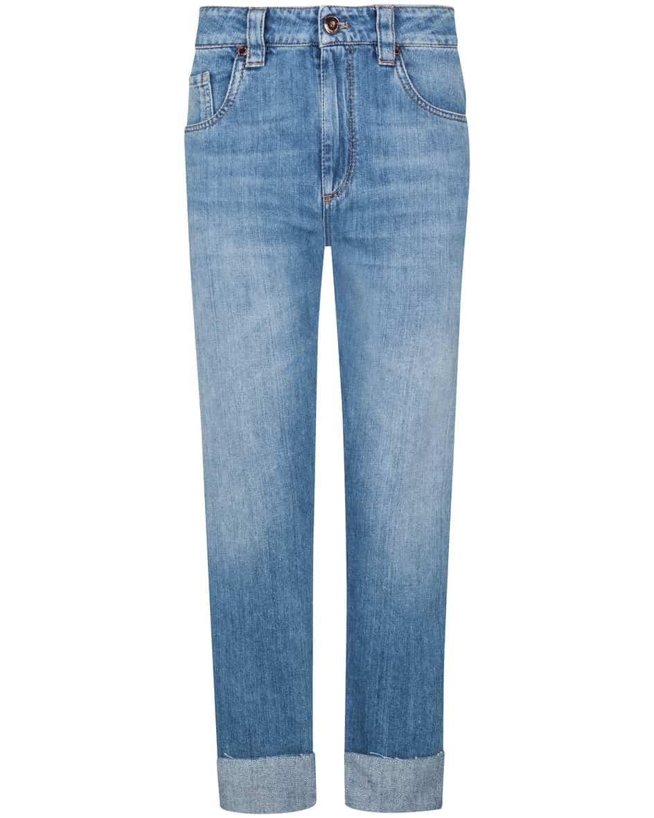 Hosen - Brunello Cucinelli Straight Leg 7–8 Jeans Mid Rise  - Onlineshop Lodenfrey