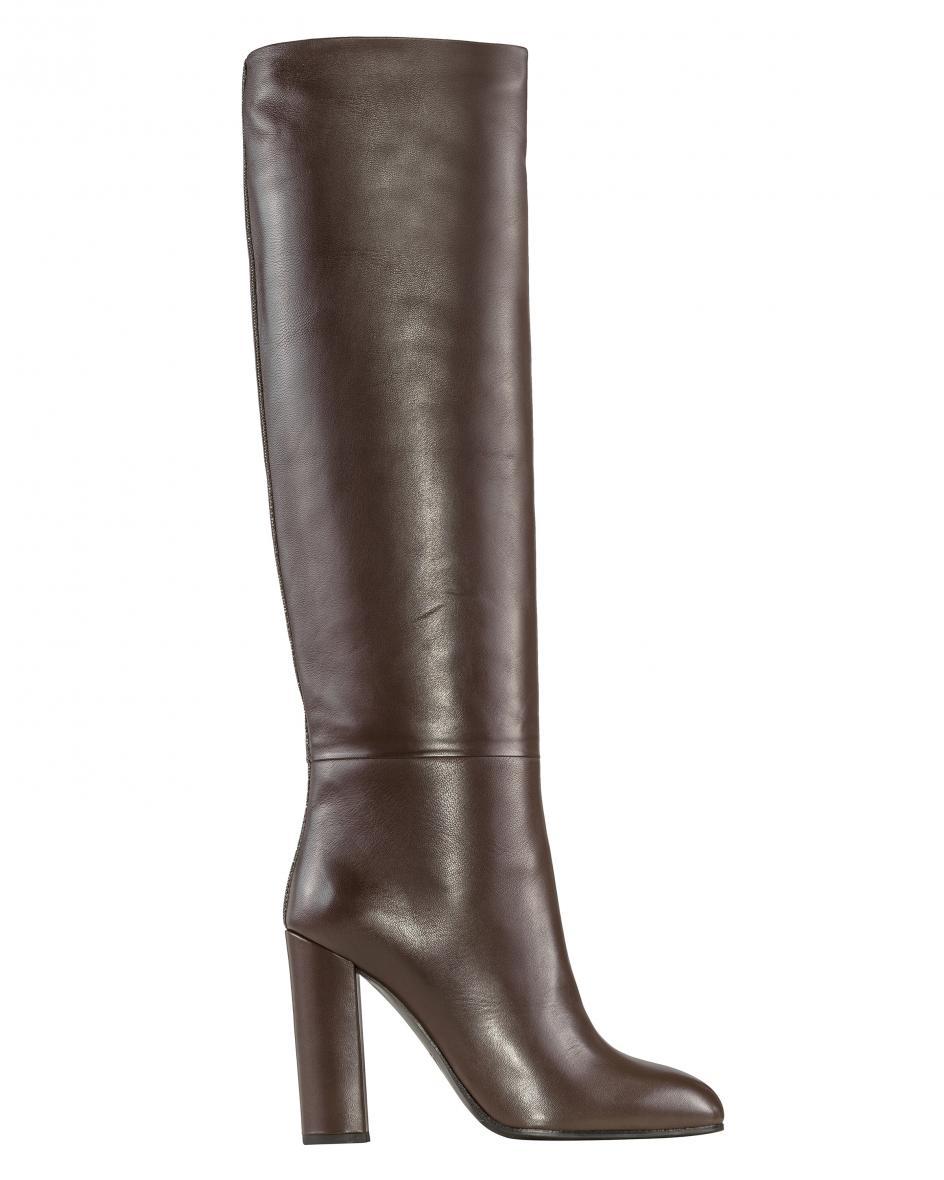 Artikel klicken und genauer betrachten! - Stiefel für Damen von Fabiana Filippi in Braun. Das feminine Modell bestichtdurch schlichte Eleganz dank der Verwendung von hochwertigem Glattleder..... Mehr Details bei Lodenfrey.com!   im Online Shop kaufen