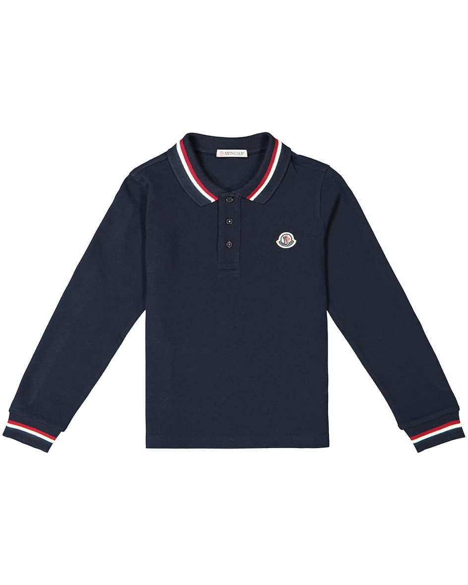 Jungen-Langarm-Polo-Shirt 104