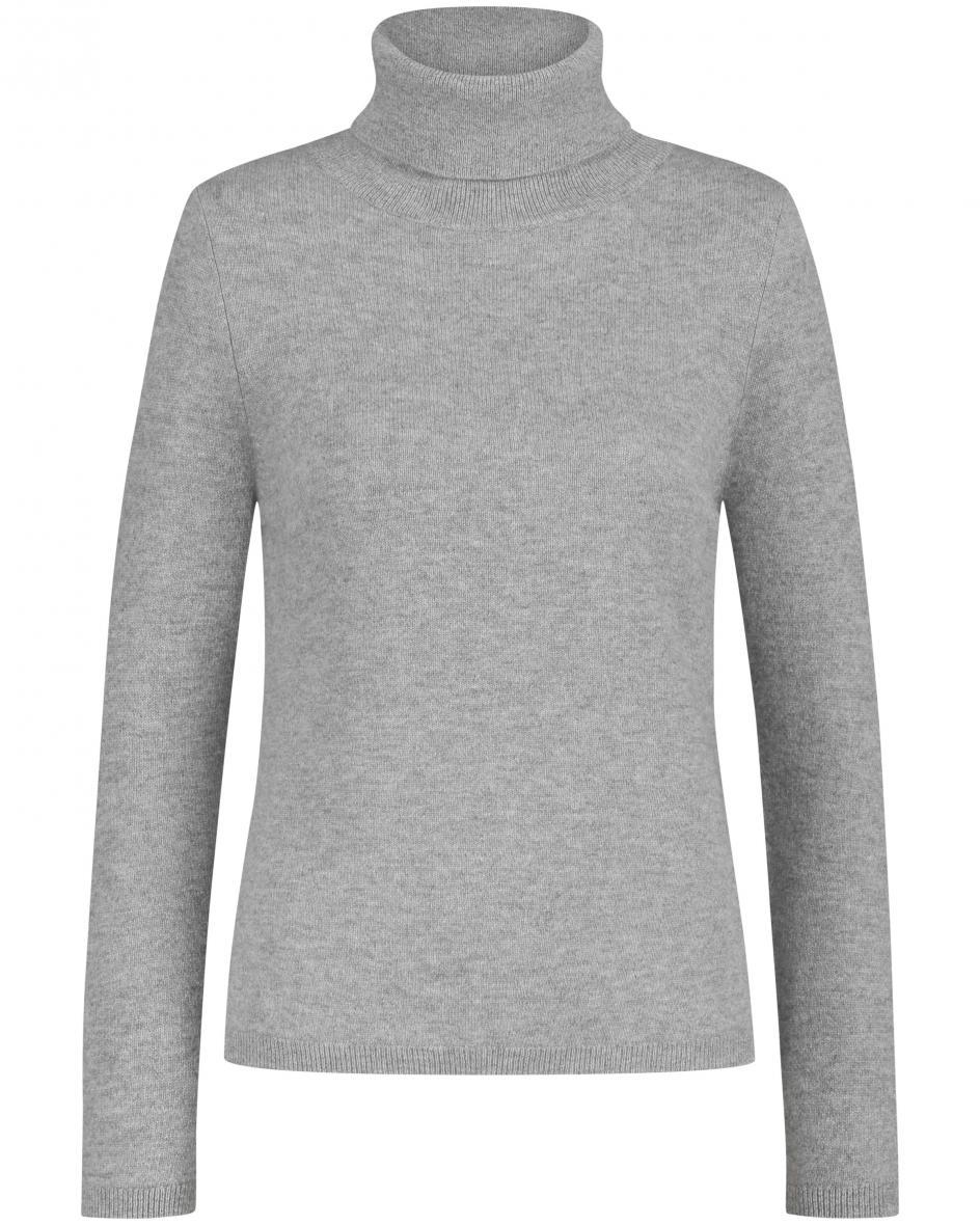 Cashmere-Rollkragen-Pullover 44