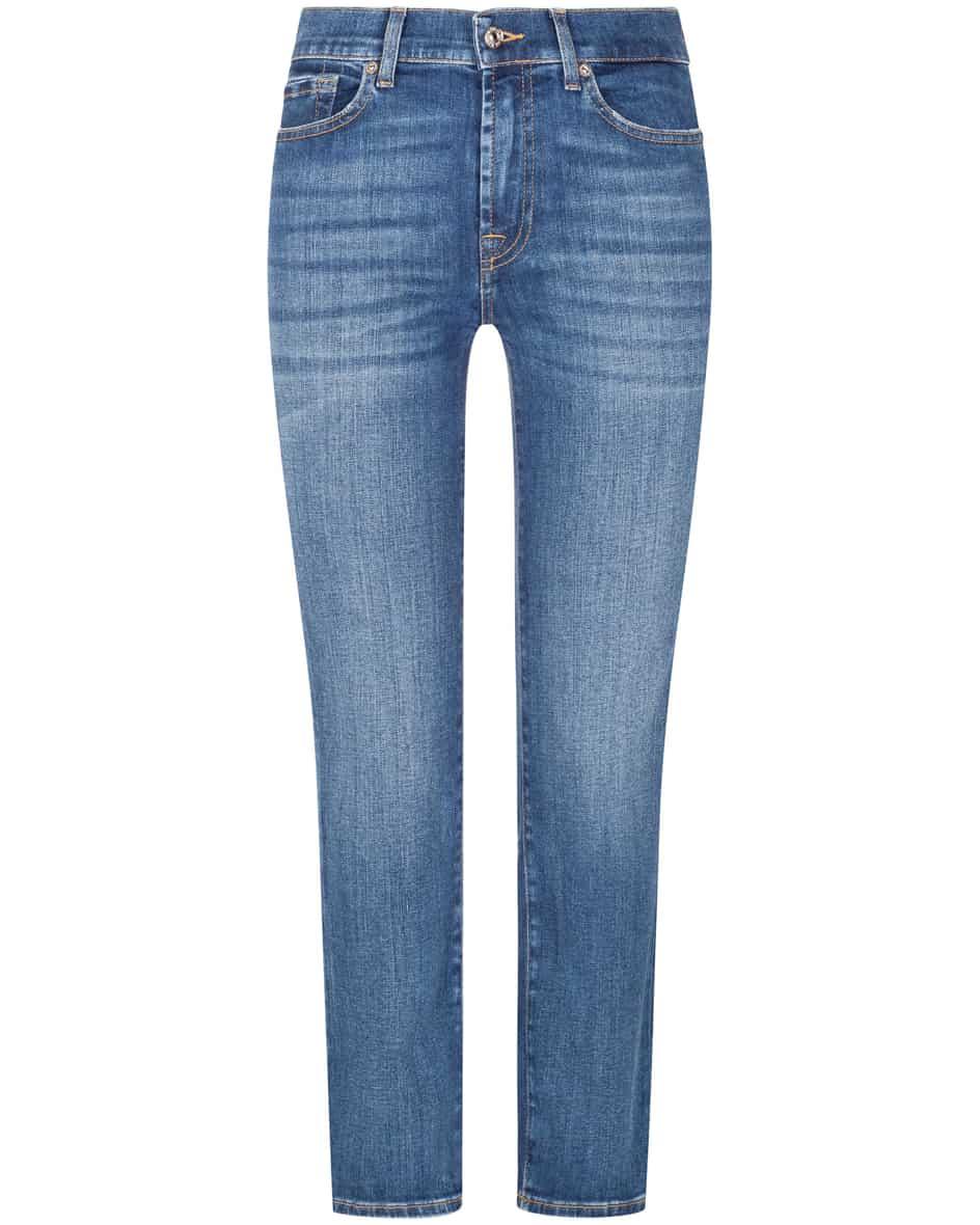 Hosen - 7 For All Mankind The Straight 7–8 Jeans Crop  - Onlineshop Lodenfrey