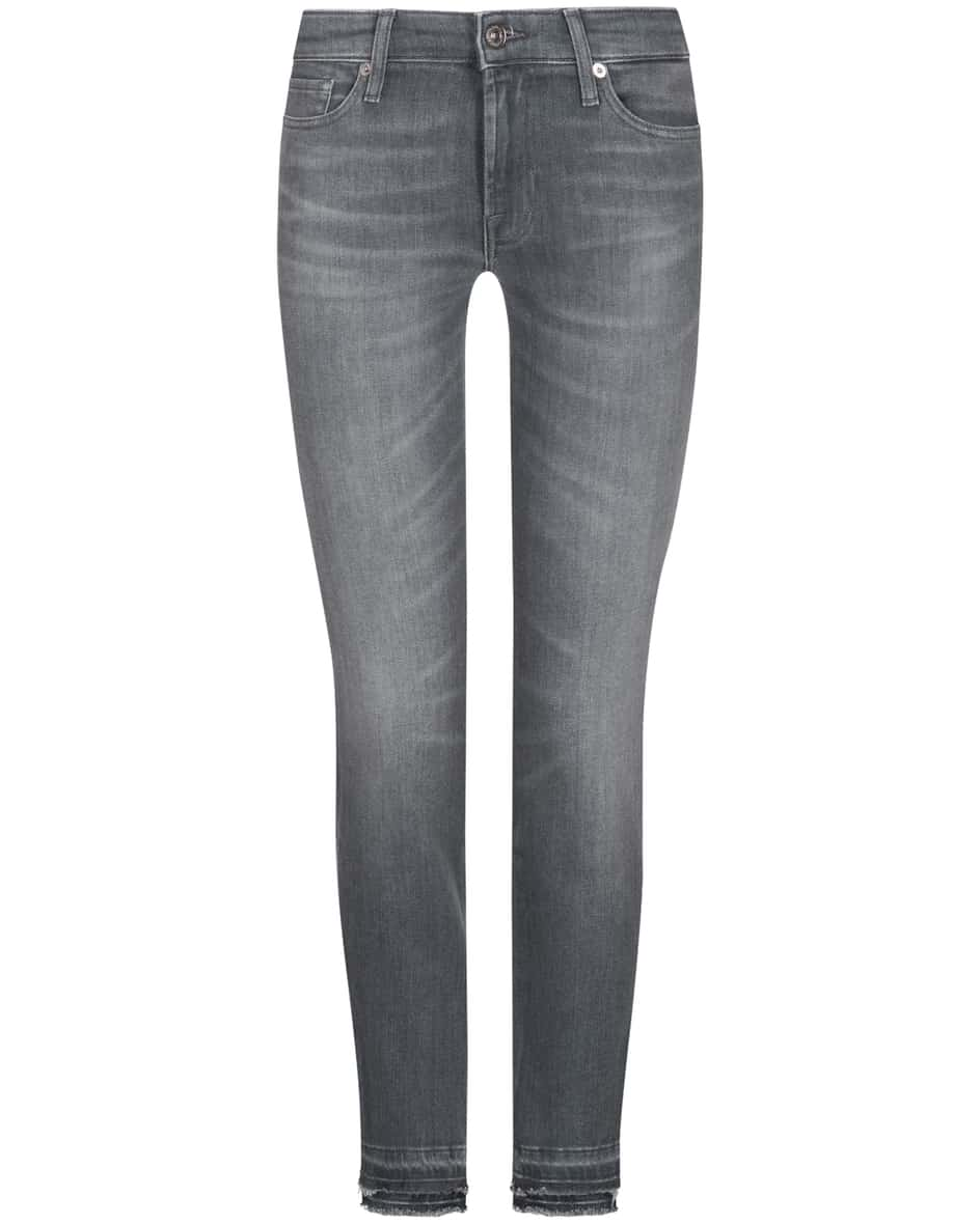 Hosen - 7 For All Mankind Pyper 7–8 Jeans Slim Illusion Crop  - Onlineshop Lodenfrey