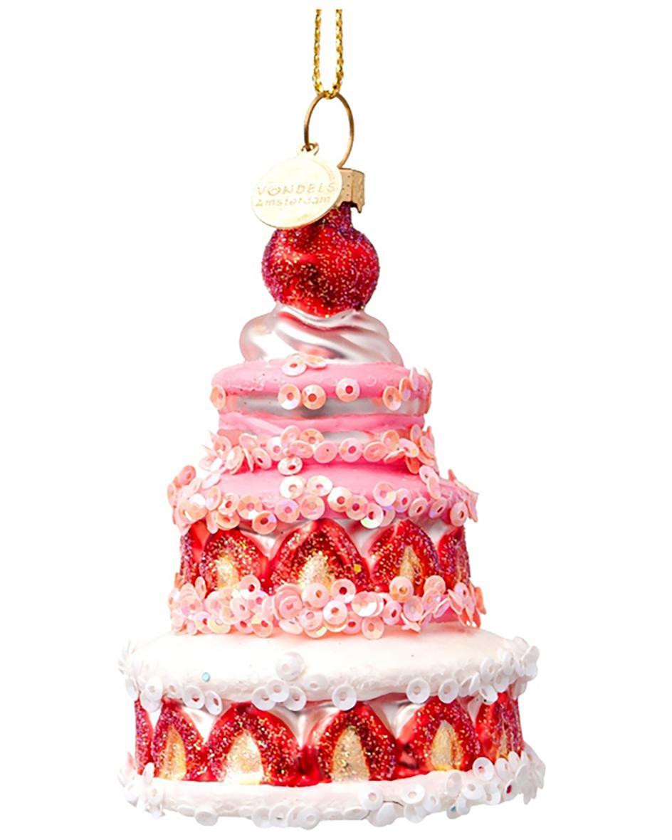 Torte Weihnachtsanhänger Unisize