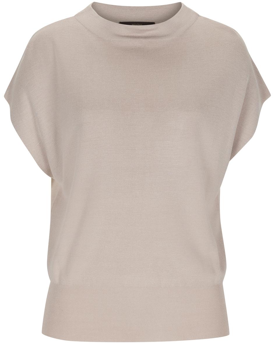 Seiden-Strickshirt 32