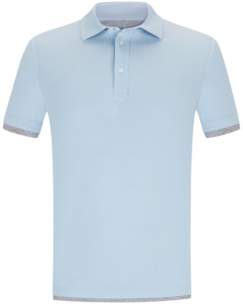 brunello cucinelli - Polo-Shirt Slim Fit