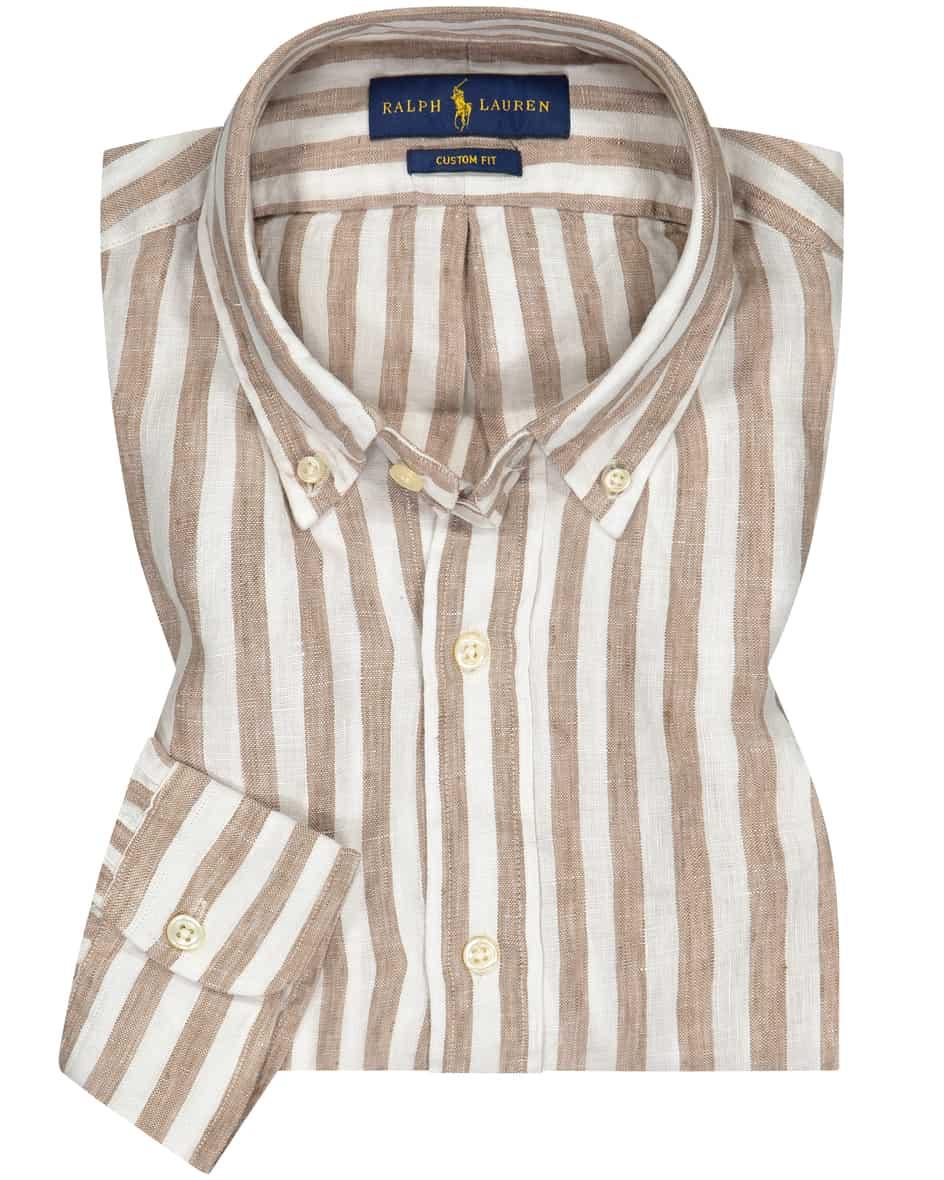 Leinenhemd Custom Fit  M