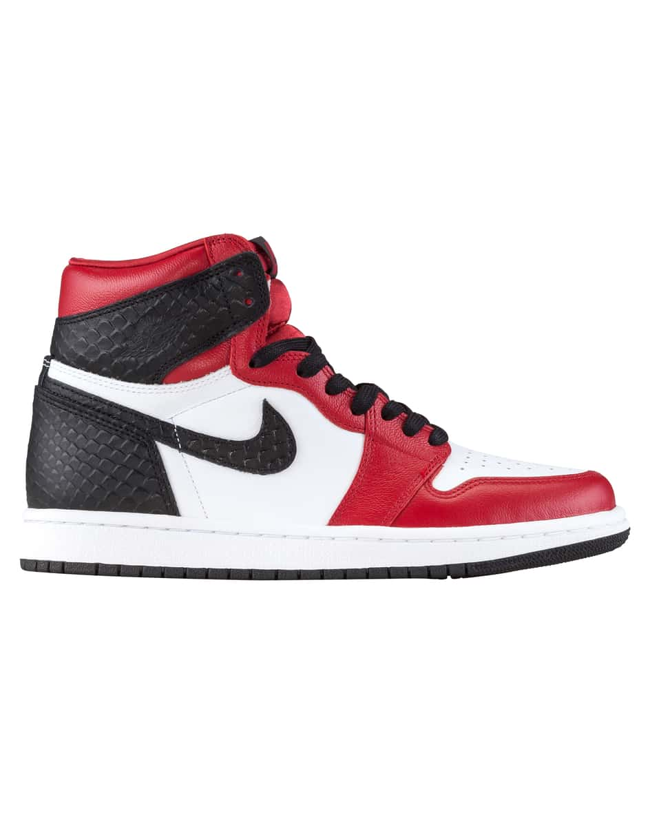 Nike Air Jordan 1 Satin Snake Hightop Sneaker 43