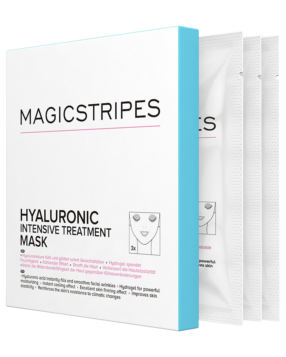 Hyaluronic Intensive Treatment Pflegemaske 3er-Set Unisize