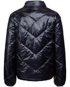 modische Damen Rainwear-Jacke in Schwarz//Weiß kariert CERO ETAGE funktionelle