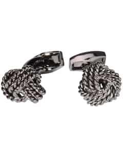 Round Knot Cable Manschettenknöpfe Unisize